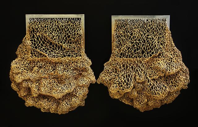 , 'Gold & Silver sack,' 2018, S.A.C. Gallery Bangkok