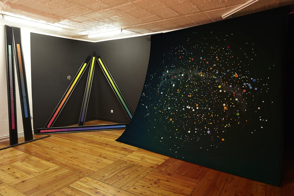 Emil Cieślar, Colour Music Solfège, exhibition view, 2015; photo: Franciszek Buchner, courtesy Pola Magnetyczne