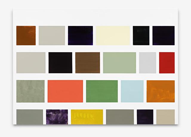 Ronald de Bloeme, 'De Berlijnse Muur (Google)', 2019, Painting, Matte and high-gloss lacquer on canvas, BorzoGallery