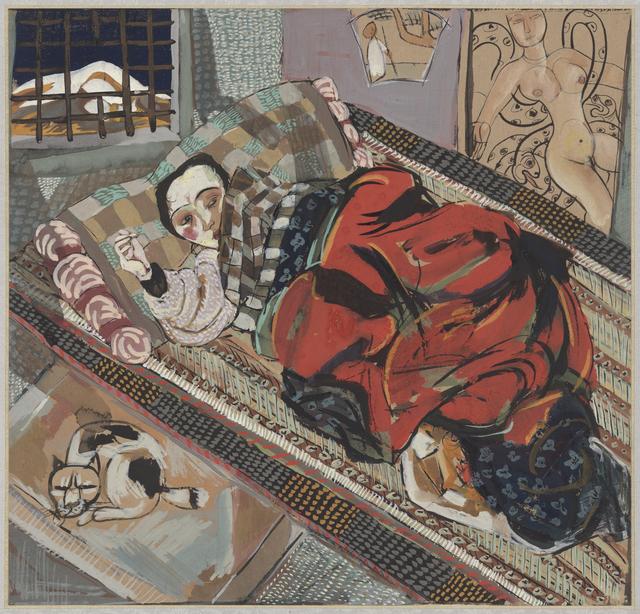 Li Jin 李津, 'Liang's Siesta 小梁午休', 1993, Ink Studio