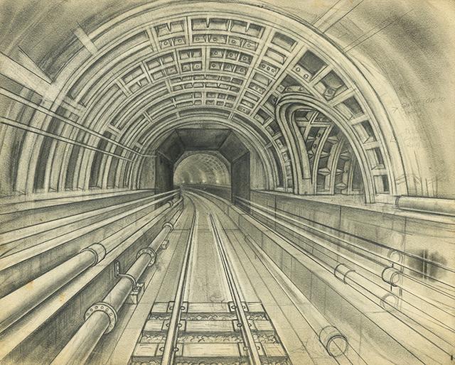 , 'Metro Tunnel, Eastbound from Ciudad Eldorado,' ca. 1960, Ricco/Maresca Gallery