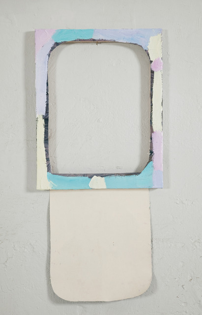 , 'A second small cut out painting,' 2012, Winkleman Gallery