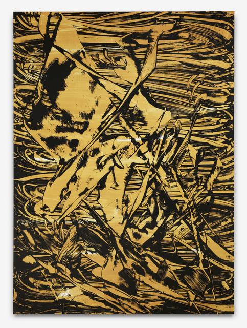 , 'Raft (Gold),' 2012, Hamish Morrison Galerie