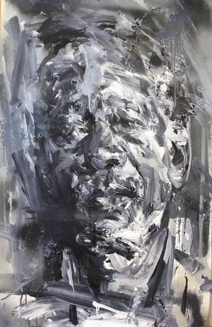 , 'Between The Light & The Dark (Morgan Freeman),' 2017, Maddox Gallery
