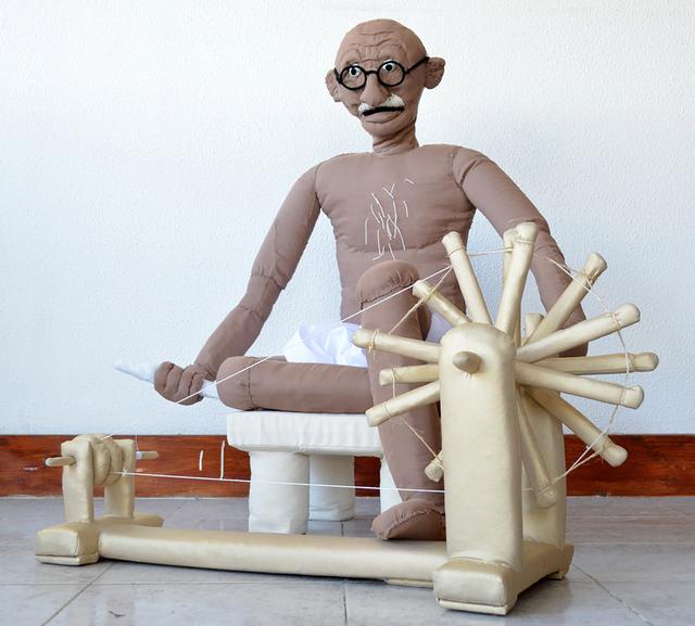 Debanjan Roy, 'Toy Gandhi 8 (Soft Toy)', 2019, Aicon Gallery