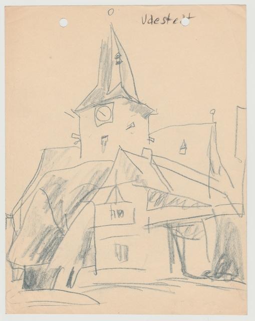 , 'Udestedt,' 1913, Henze & Ketterer