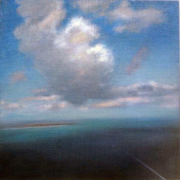 , 'Aerial W/ Boat Wake,' 2015, Nohra Haime Gallery