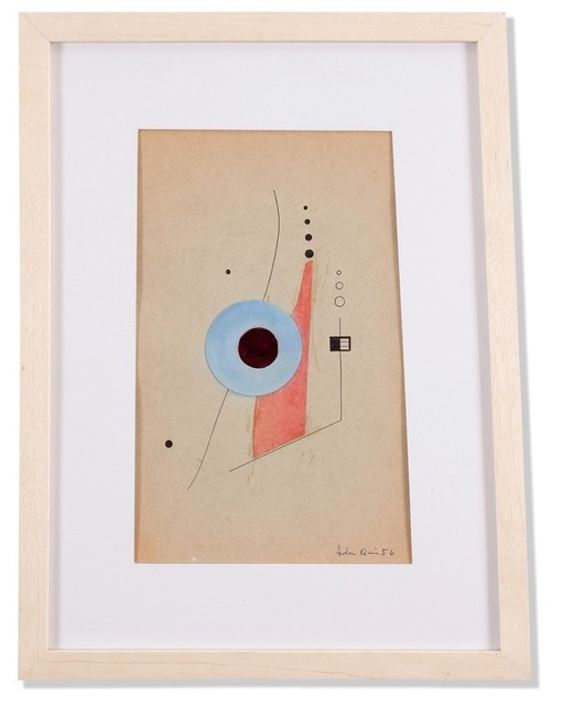 , 'Collage sin título,' 1956, Leon Tovar Gallery