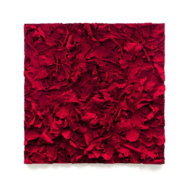 Juri Markkula, 'Carmin Ground I', 2019, Mixed Media, Pigmented polyvinyl polyurethane, Galerie Ora-Ora