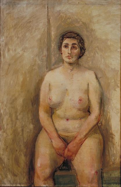 , 'Seated Nude ,' 1952-1953, ARoS Aarhus Art Museum