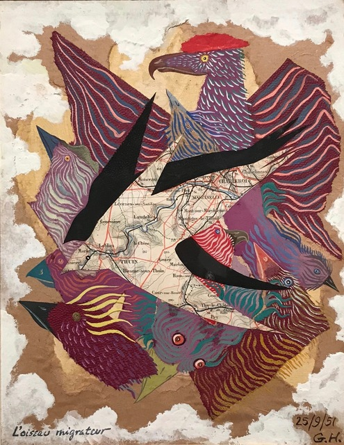 , 'L'oiseau migrateur,' 1951, Galerie Philippe David