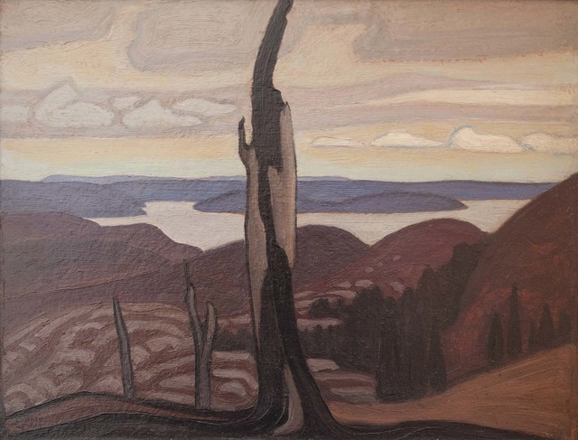 , 'Lake Superior country,' 1925, CFA Gallery