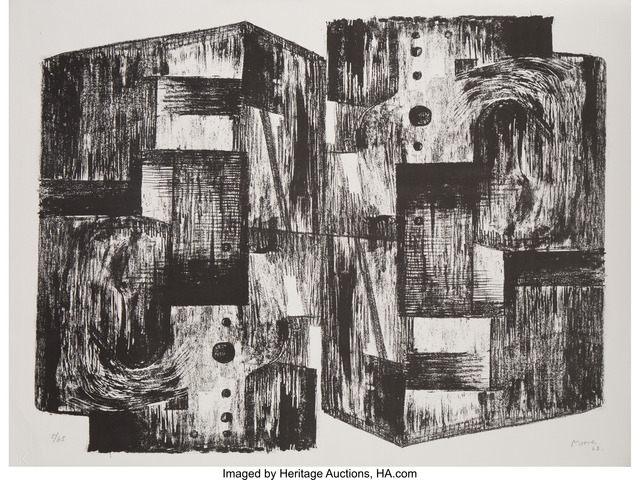 Henry Moore, 'Square Forms', 1963, Heritage Auctions