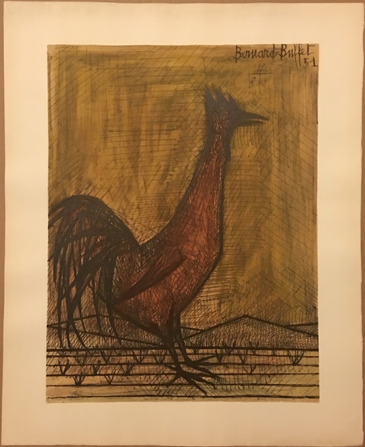 Pleasant Bernard Buffet Rooster 1951 Available For Sale Artsy Home Interior And Landscaping Palasignezvosmurscom