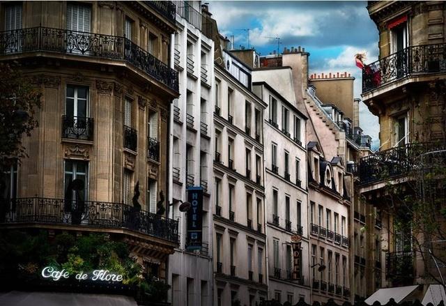 David Drebin, 'Red Dress in Paris', Art Angels