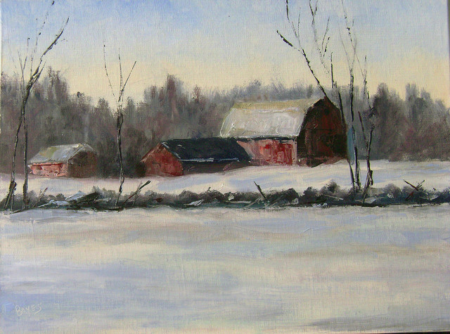 , 'Winter Morning,' 2016, Eastend Studio and Gallery