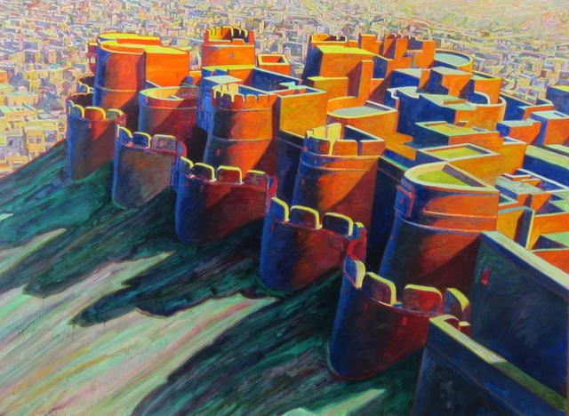 Bill Kohn, 'Jaisalmer Fortress', 1999, Bruno David Gallery