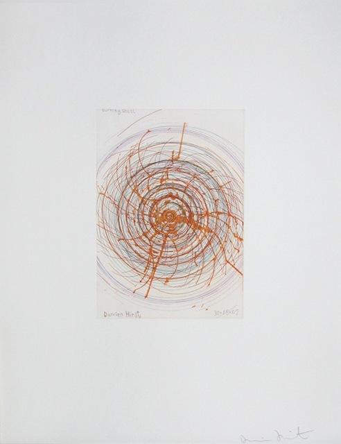 Damien Hirst, 'Burning Wheel, from In a Spin', 2002, Gregg Shienbaum Fine Art
