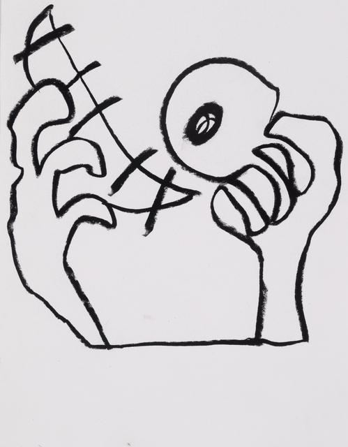 , 'Ojo (Blind Lemon),' 2016, Asya Geisberg Gallery