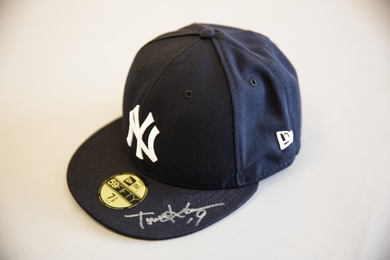 Masahiro Tanaka Signed Yankees Baseball Cap
