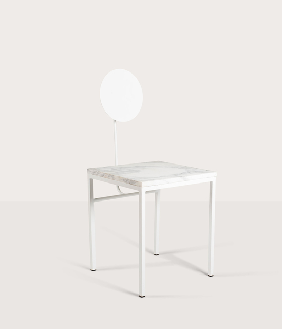 , 'Kiin Chair (white),' 2017, THE NEW