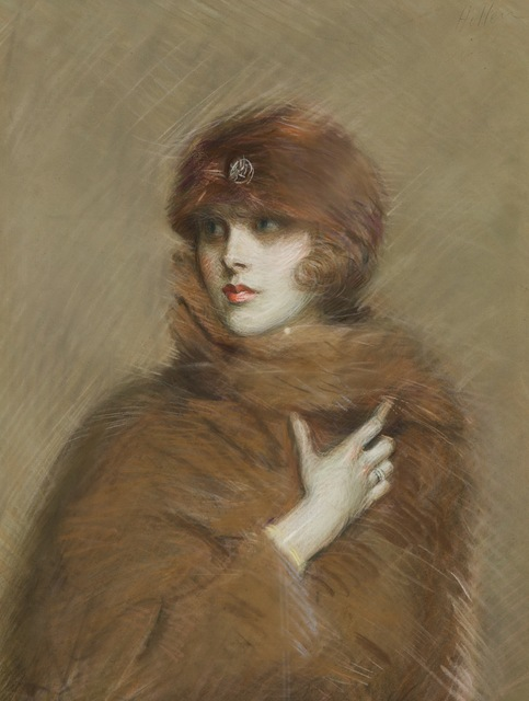 , 'Portrait de Kiki Preston (Alice Gwynne),' 1900, Galerie d'Orsay