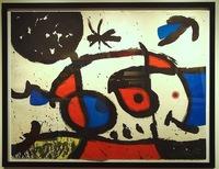 Joan Miró, Le Bagnard et sa Compagne