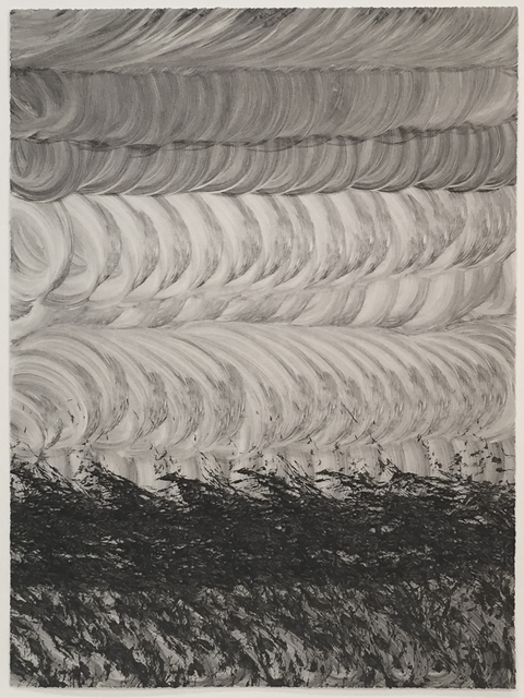 Trevor and Ryan Oakes, 'Untitled 18 (black)', 2011, Print, Monotype on paper, David Krut Projects