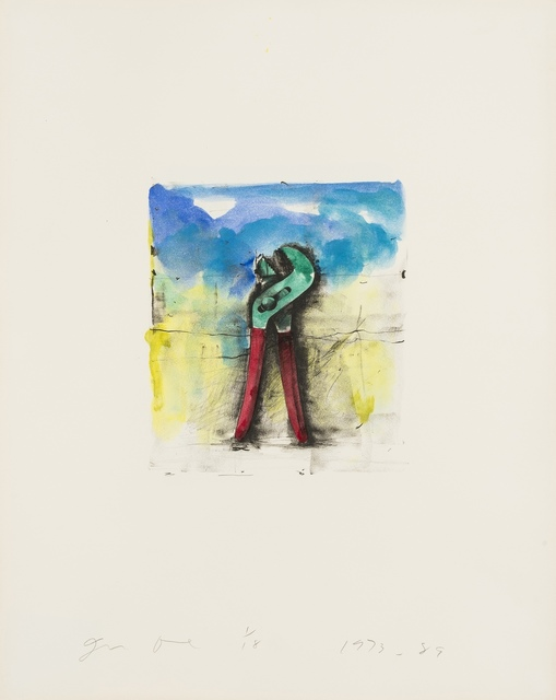 Jim Dine, 'From 'Ten Hand-Colored Winter Tools II' (Carpenter 32.5)', 1973-89, Forum Auctions