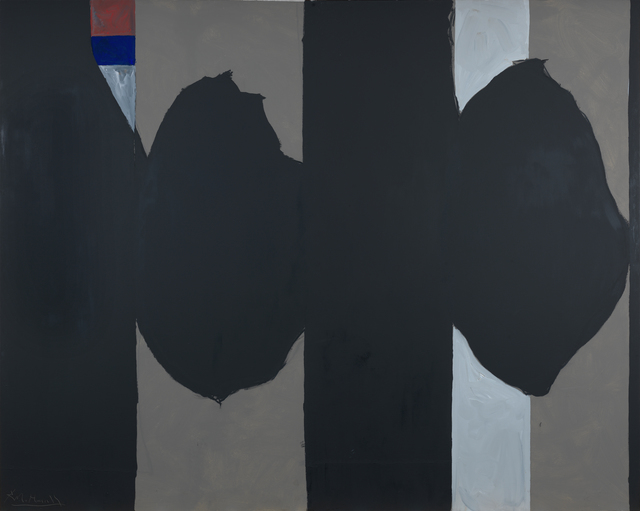 Robert Motherwell, 'Elegy to the Spanish Republic #130,' 1974-1975, Bernard Jacobson Gallery