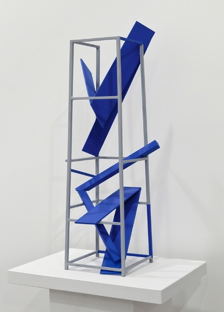 , 'Untitled 2 Blue,' 2012, Maddox Arts