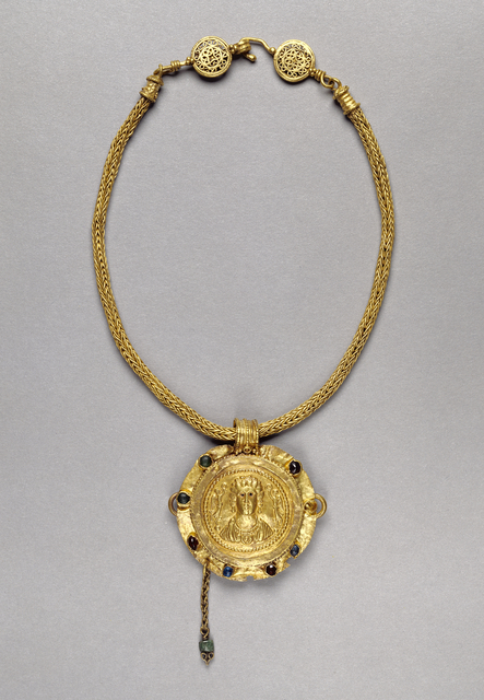 'Necklace with Pendant', 250 -400, J. Paul Getty Museum