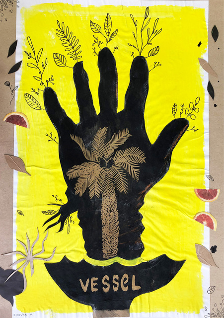 , ' Palm of the Hand 1,' 2020, 99 Loop Gallery