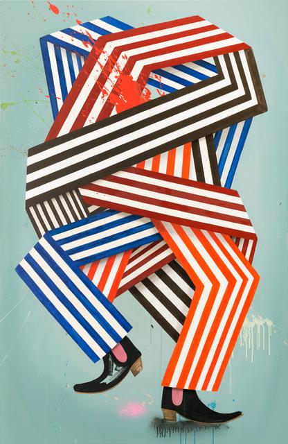 , 'Excuse me Sir, speaking american Russki Hegemonic,' 2014, Galerie Kleindienst