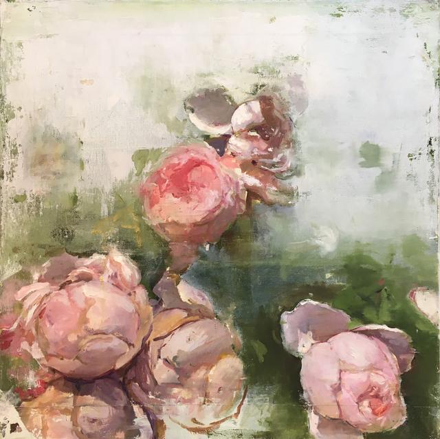 , 'TEA ROSES,' , saltfineart