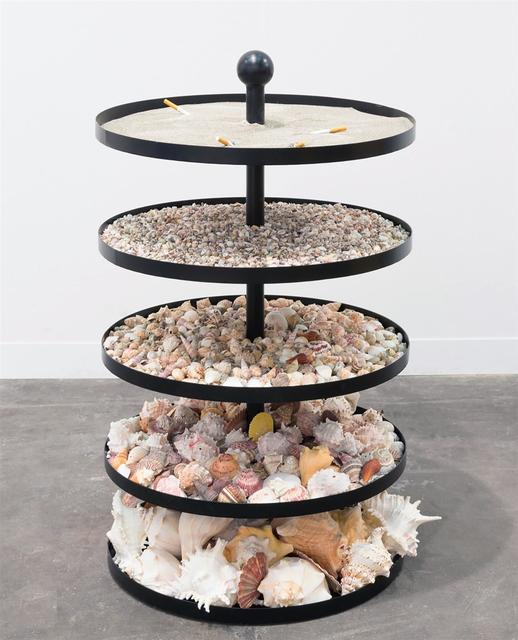 Nicole Wermers, 'Untitled Ashtray (shells)', 2018, Tanya Bonakdar Gallery