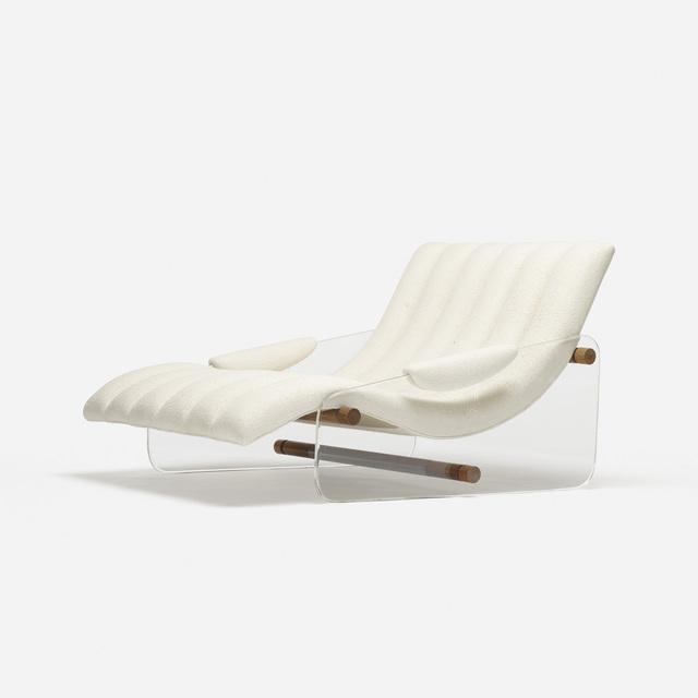 Attributed to Fabio Lenci, 'lounge chair', c. 1967, Rago/Wright