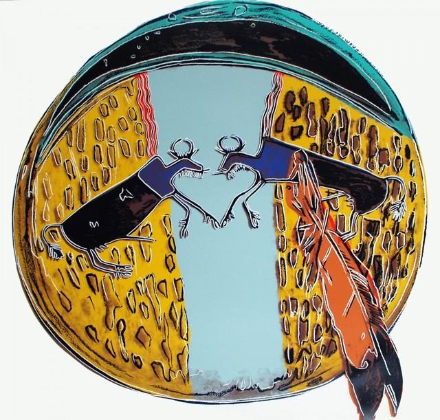 Andy Warhol, 'Plains Indian Shield (FS II.383)', 1986, Revolver Gallery