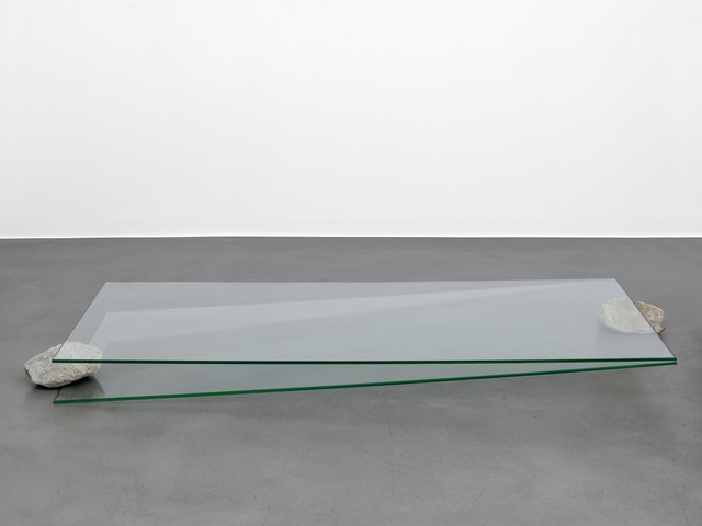 , 'Situation - glass and stone,' 2016, Simon Lee Gallery
