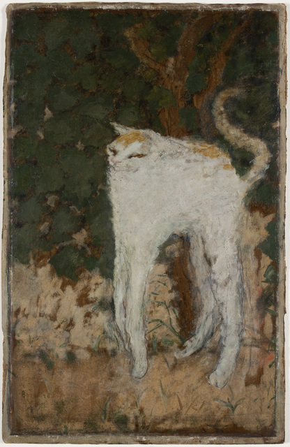 , 'Le chat blanc (The White Cat),' 1894, Musée d'Orsay