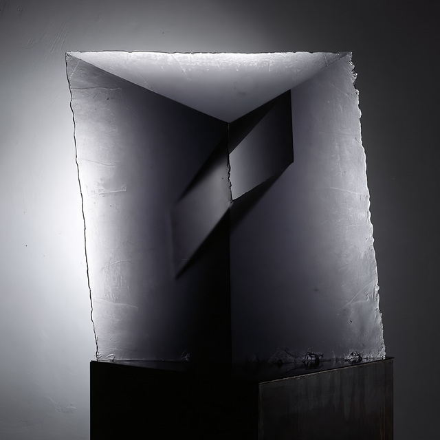 , 'Space III,' 1991, Glasgalerie Stölting