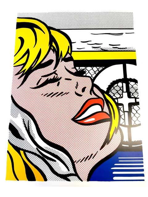 """Roy Lichtenstein, 'Lithograph """"Blonde"""" after Roy Lichtenstein', Galerie Philia"""