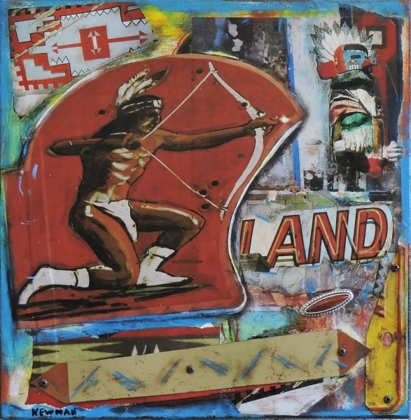 , 'Native Land,' 2018, Xanadu Gallery