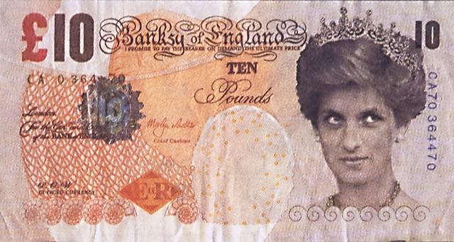 Banksy, 'Di-faced Tenner, 10 GBP Note', 2005, Rago