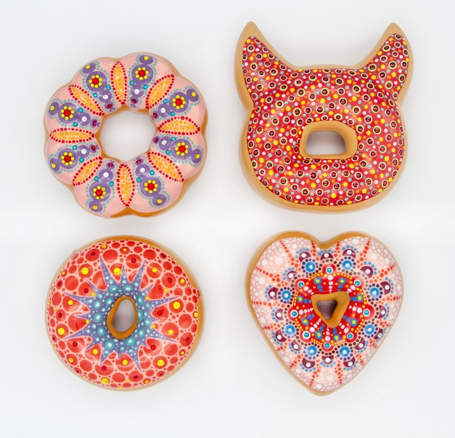, 'Red Donuts,' 2018, Lyons Wier Gallery