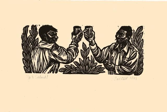 , 'Salud!,' 1949, Sragow Gallery
