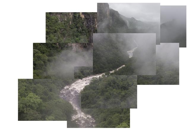 , 'O viajante sobre o rio de Nevoa ,' 2016, Galeria Nara Roesler