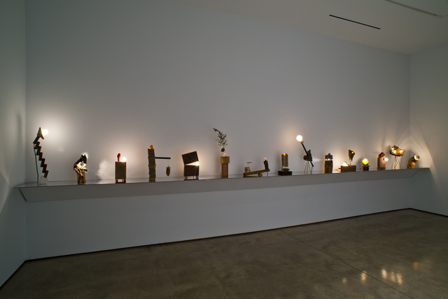 , 'House Lamps,' 2014, Lora Reynolds Gallery