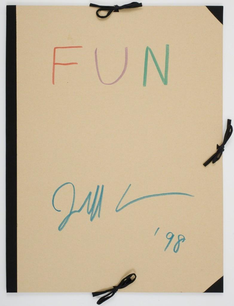 Jeff Koons, 'Fun,' 1998, Gagosian