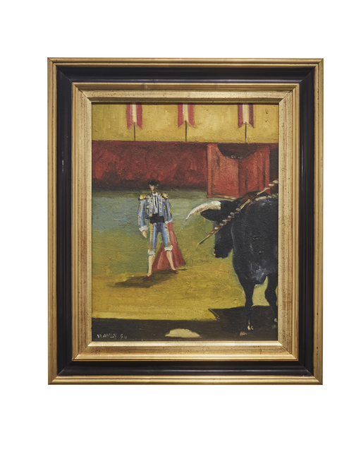 , 'Bullfighter,' 1954, Barjeel Art Foundation